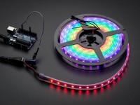 Adafruit NeoPixel Digital RGB LED Streifen - 60 LED, Weiß
