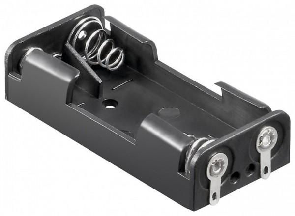 Batteriehalter für 2x Microzellen AAA mit Lötanschluss