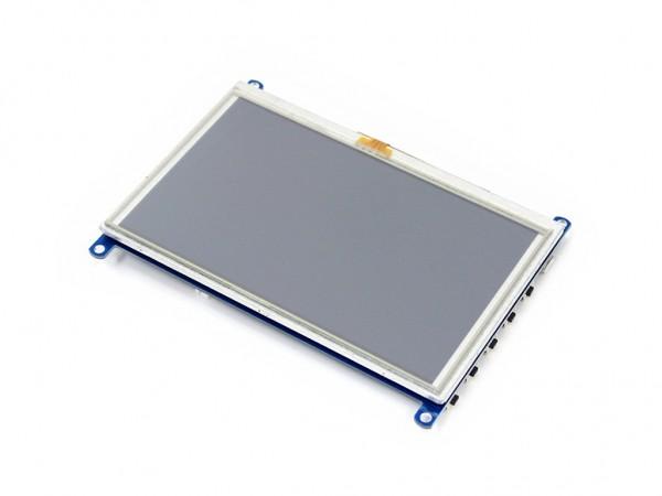 Universal 5,0 Display mit HDMI / VGA Eingang und resisitivem Touchscreen