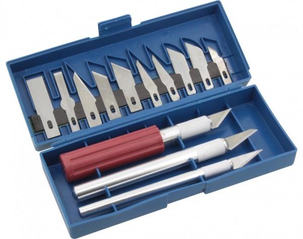 Designer Messer / Skalpell Set 13-teilig