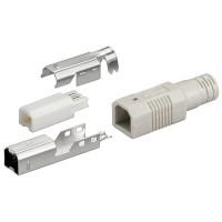 USB B-Stecker - Lötmontage