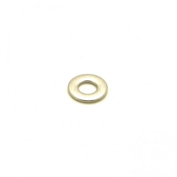 Unterlegscheibe, Metall, rund, M2,5; D5,1mm; H0,6mm
