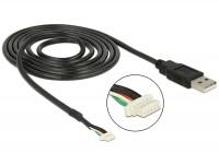 Modul Anschlusskabel USB 2.0 Typ-A Stecker > 5 pin Kamera Stecker V5 A 1,5 m