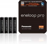Panasonic eneloop Pro Akku Micro AAA NiMH 930mAh, 4er Storage Case