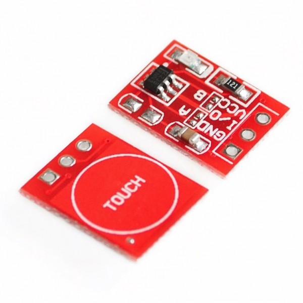 TTP223 Kapazitiver Touch Sensor / Taster