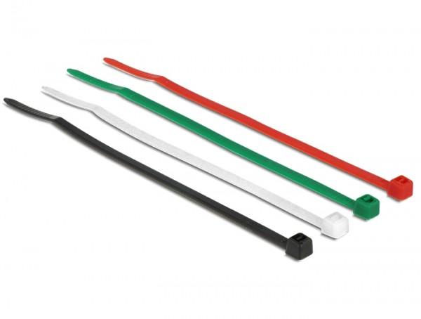 Kabelbinder farbig L 100 x B 2,5 mm 200 Stück
