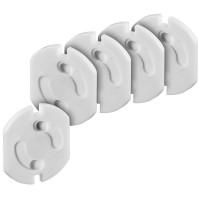 Kindersicherung für Steckdosen, 5 Stück
