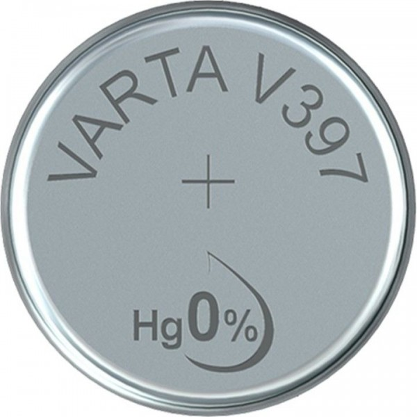 VARTA Silberoxid Uhrenbatterie V397