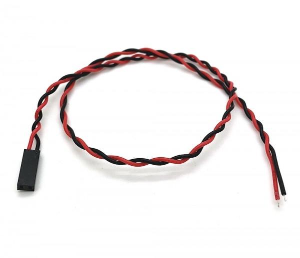 Kabel mit Dupont Steckverbinder, AWG26, 35cm, 2 Pin