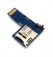 Dual microSD Adapter für Raspberry Pi