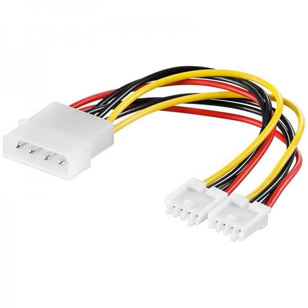 Y-Power Kabel 5.25 Stecker - 2x 3.5 Kupplung 0,13m