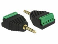Adapter Klinkenstecker 3,5 mm zu Terminalblock 5 Pin
