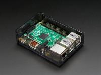 Adafruit Raspberry Pi B+ / Pi 2 / Pi 3 Case - Smoke Base