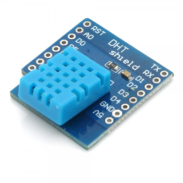 DHT11 Temperatur- / Luftfeuchtesensor Shield für D1 Mini