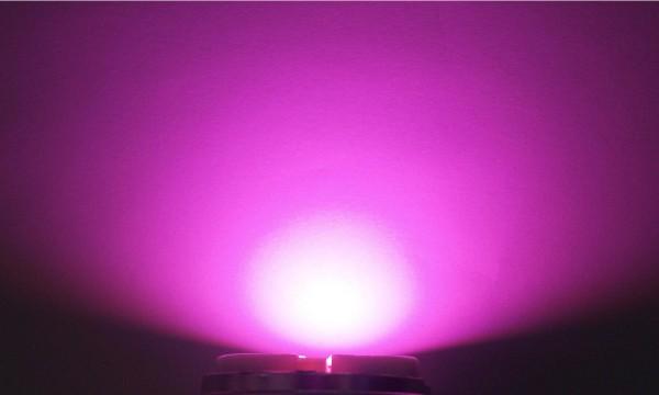 OptoSupply LED, 5mm, 3.5-4.1lm, 15°, klar, baby pink