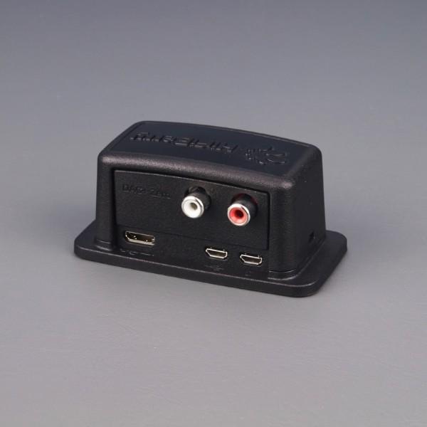 Gehäuse für HiFiBerry DAC+ Zero und Raspberry Pi Zero, schwarz