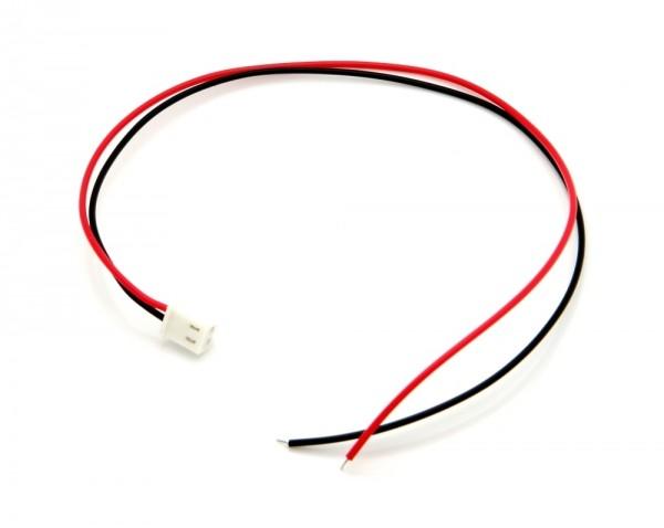 Kabel mit Molex Mini SPOX 5102 2-PIN 25cm 26 AWG