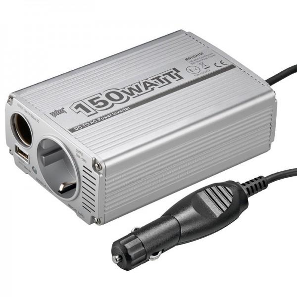 Spannungswandler 150W DC/AC von 12V auf 230V