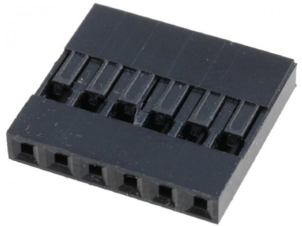 Dupont Gehäuse 1x6 Pin