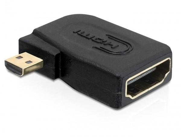 Micro HDMI Adapter seitlich gewinkelt