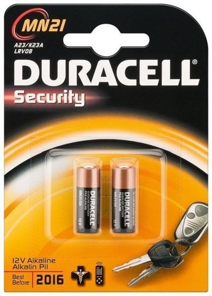 Duracell Batterien Alkaline 12V LR23A - 2er Blister