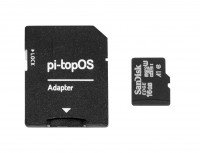pi-top [4] - SanDisk 16GB microSDHC, pi-topOS vorinstalliert