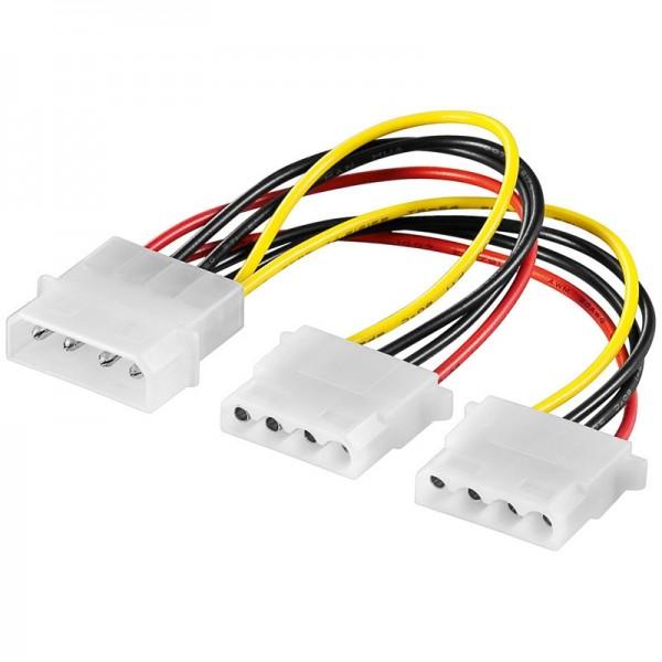 Y-Power Kabel 5.25 Stecker - 2 x 5.25 Kupplung