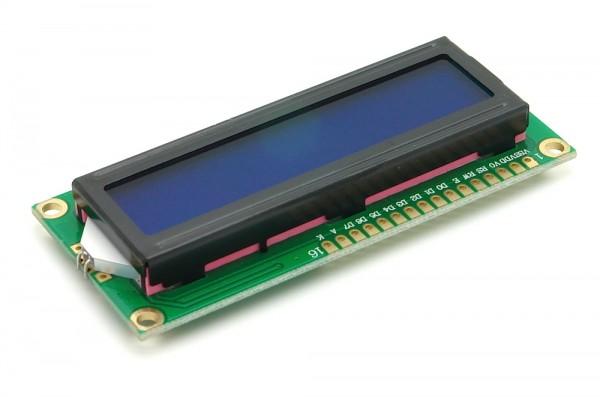 LCD 16x2 blau / weiß