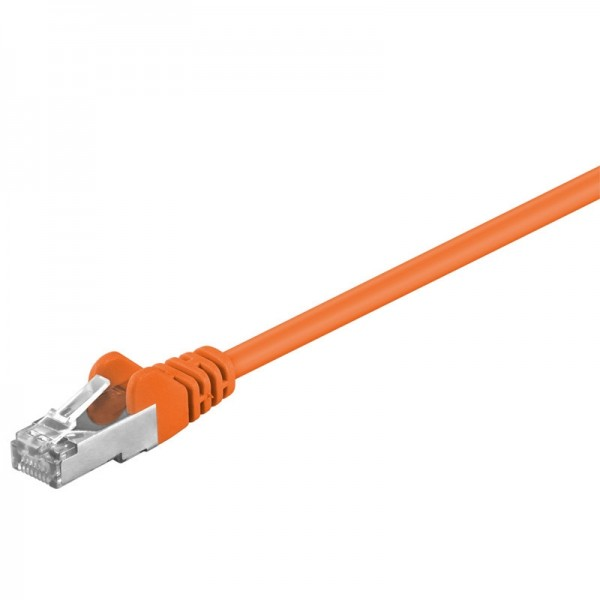 CAT 5e Netzwerkkabel, SF/UTP, orange