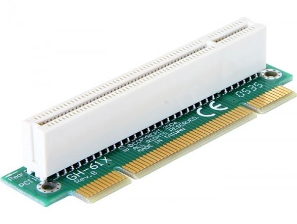 Delock Riser Karte PCI gewinkelt 90° links gerichtet