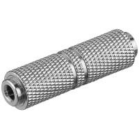 Klinken Adapter Metall 3,5mm Stereo Klinkenkupplung - 3,5mm Stereo Klinkenkupplung