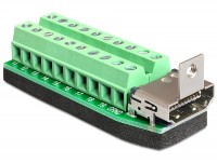 Adapter Terminalblock - HDMI Buchse