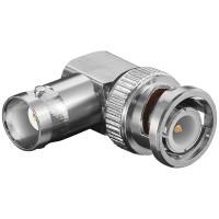 Winkel Adapter BNC Stecker - BNC Buchse