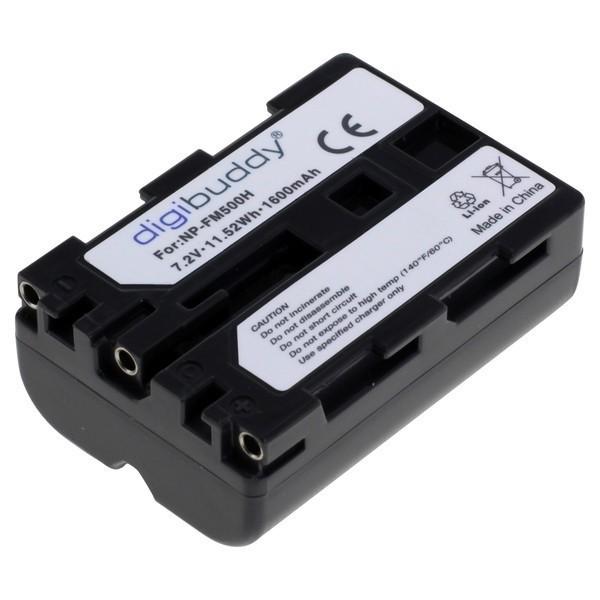Premium Akku kompatibel zu Sony NP-FM500H Li-Ion 1600mAh