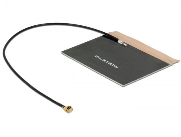 LTE Antenne MHF/U.FL-LP-068 kompatibler Stecker 2 ~ 3,5 dBi 150 mm PCB intern selbstklebend