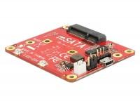 Konverter Raspberry Pi USB Micro-B Buchse / USB Pin Header - mSATA 6 Gb/s