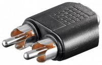 Adapter 3,5mm Stereo Klinkenbuchse - 2x Cinchstecker