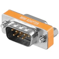 Nullmodem Adapter D-Sub 9-polig