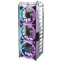 Rack Tower Pro, 12-Layer Gehäuse für Raspberry Pi Cluster