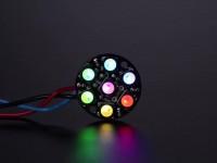 NeoPixel Jewel - 7 x 5050 RGBW LED mit integrierten Treibern, natürliches Weiß