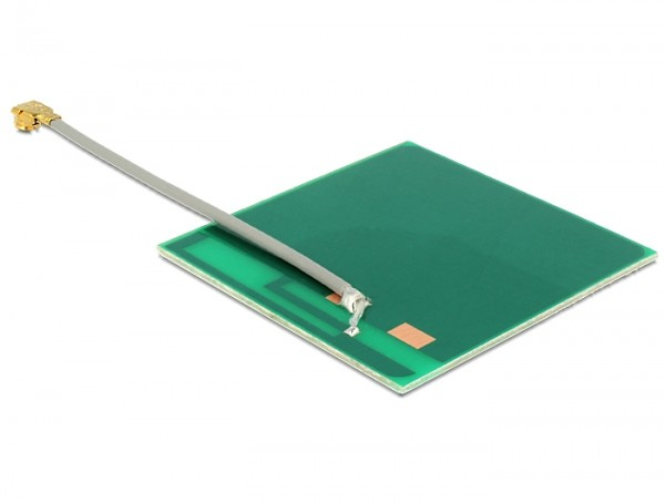 WLAN Antenne MHF/U.FL-LP-068 kompatibel 802.11 b/g/n 2 dBi 50 mm PCB intern selbstklebend