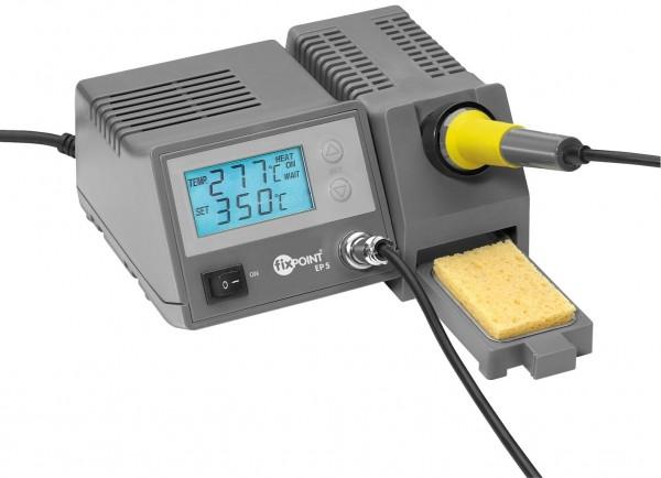 Fixpoint EP5 Digitale Lötstation mit Soll- und Ist Temperaturanzeige