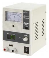 Labornetzgerät LBN-1501, regelbar, 0-15 V, 0-1 A, 5V USB, Analog Anzeige