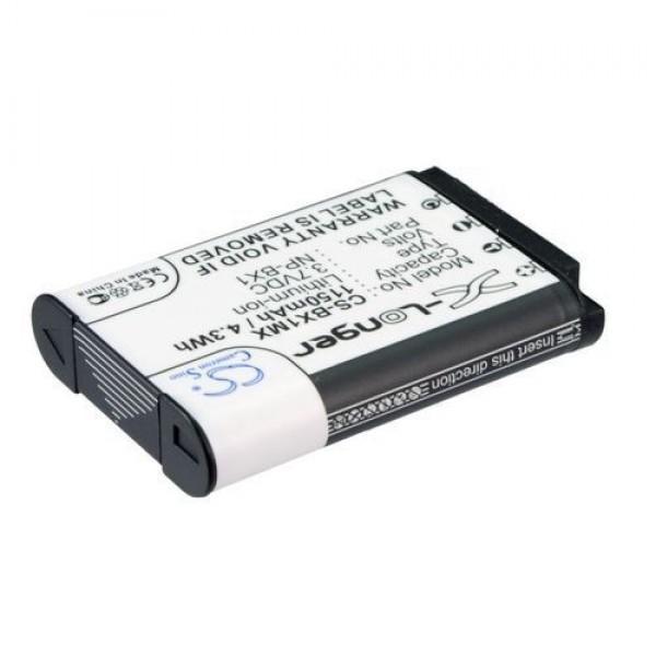 Akku kompatibel zu Sony NP-BX1 Li-Ion 1150mAh