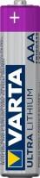 VARTA Ultra Lithium Batterien, Micro AAA, 2er Blister