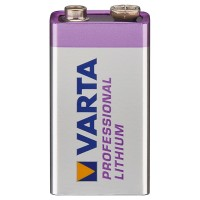 VARTA Professional Batterie Lithium 9V-Block