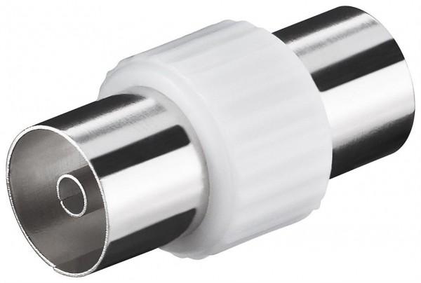 Adapter, Koax-Buchse - Koax-Buchse, Kunststoffausführung