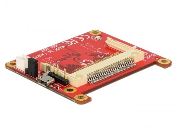 Konverter Raspberry Pi USB Micro-B Buchse / USB Pin Header - Compact Flash