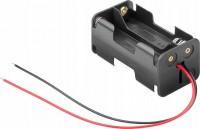 Batteriehalter für 4x Mignon AA 2/2 mit 150mm Anschlusskabel
