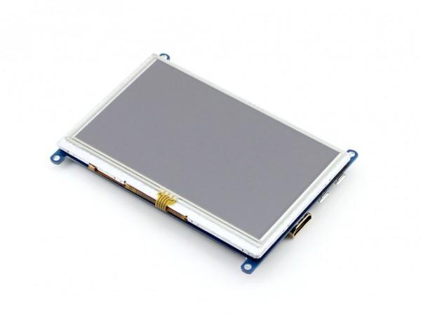 Universal 5,0 Display mit HDMI Eingang und resistivem Touchscreen